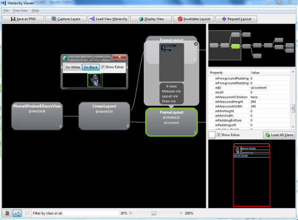 Hierarchy Viewer Screenshot