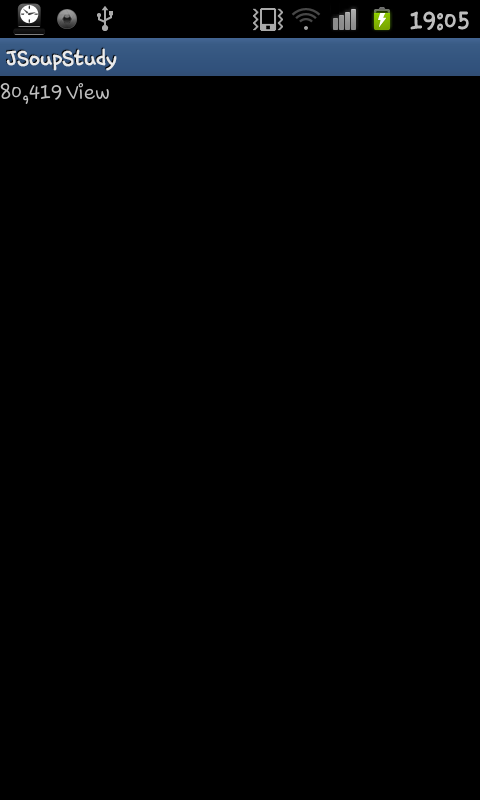 JSoup Sample